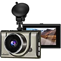 Voltenick 1080P FHD 3 Inch IPS Metal Shell Dash Camera for Cars
