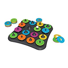 MORPH THE MOST AND WIN! Do you have what it takes to find the longest string of changes? MOVE THE BALL FROM DISC TO DISC by changing one attribute - Color, pattern, or center circle size GREAT FOR AGES 8 AND UP; fun for the whole family! Easy to lear...