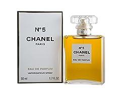 Idea Regalo - Chanel, N. 5, Eau de Parfum con vaporizzatore, 50 ml