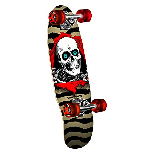 Powell-Peralta Skateboard Mini Cruiser Complete Ripper Gold 7.5' x 24'