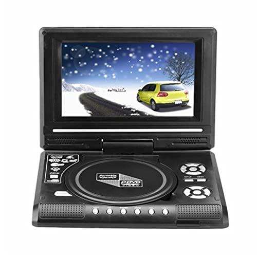 DVD móvil portátil de 9,8 Pulgadas con Mini televisor Batería incorporada Función de Memoria de Apagado Inteligente Mini televisor