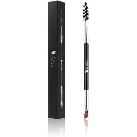 Ducare Duo Eyebrow Brush Perfect Quality Angled Eye Brow Brush And Spoolie Brush