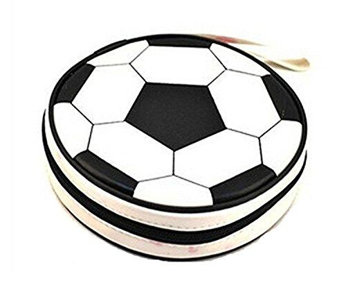 Kimberleystore étui de rangement de CD/DVD–Football X 1PC