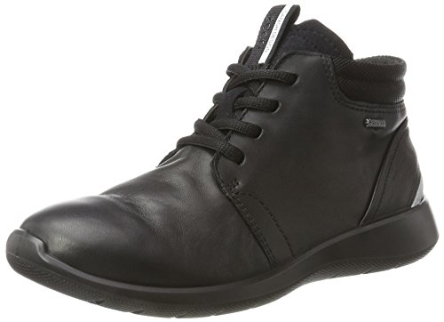 ECCO Damen Soft 5 Stiefel, Schwarz (Black), 42 EU