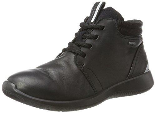 ECCO Damen Soft 5 Stiefel, Schwarz (Black), 37 EU