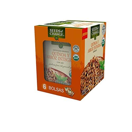 Seeds of Change quinoa y arroz orgánico 6 paquetes de 240g
