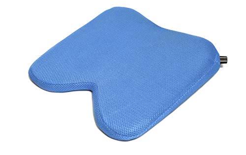 SISSEL Sit Air, selbst aufblasbares Keilkissen Sitzkissen anti-rutsch - blau