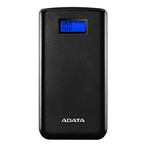 Power bank ADATA 20.000mAh Display black