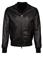 Original Leather 100% Genuine. LambSkin Leather is soft and comfortable to wear. Stylish and slimfit, suit for most handsome sportsmen. Very cool and nice jacket outwear, you won't regret when you get it in your hands. It's a good choice as a gift to...