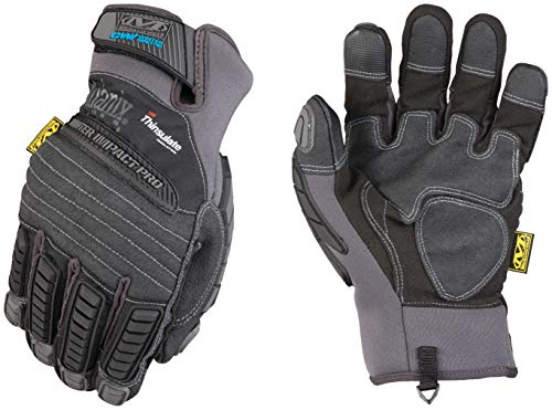 Mechanix Wear - Winter Impact Pro Touch Screen Gloves (XX-Large, Black)