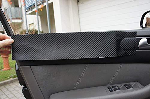 5er ORIGINAL 3D CARBON ZIERLEISTEN SET, 15 teiliges Folienset aus 3D Carbon Schwarz Folie, für den Innenraum Ihres Fahrzeuges 5er E39 1995-2004