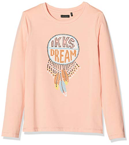 IKKS Junior Tee Shirt ML Attrape Reve, Rose (Rose Poudré 32), 6 Ans (Taille Fabricant:6A) Fille
