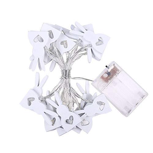 10/20 LED Pasen hout konijntje fee slinger lichtketting LED verlichting bruiloft decoratie huis decoratieve lantaarn