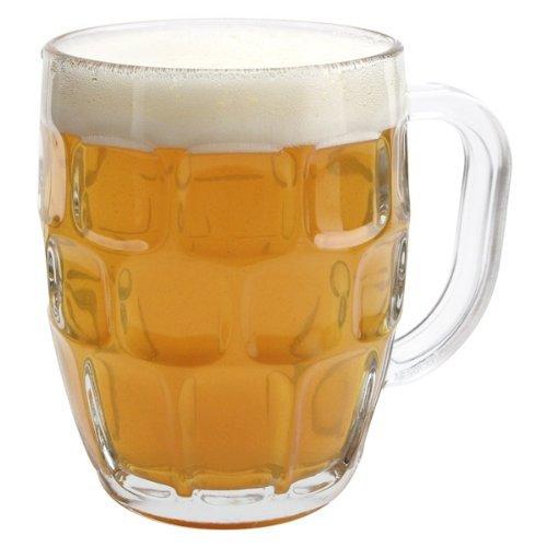 Libbey Dimple Stein Beer Mug  1925 oz