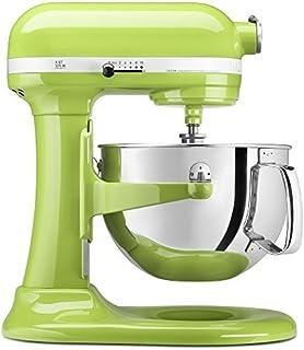 KitchenAid KP26M1XGA 6 Qt. Professional 600 Series Bowl-Lift Stand Mixer - Green Apple (Renewed)