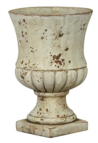Classic Home and Garden 270001-045-CP2 Remus Urn Set of 2 Planters, Large...
