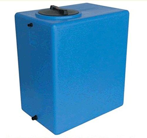 Serbatoio polietilene tipo parallelepipedo verticale 500 litri ACQUA ALIMENTI rettangolare