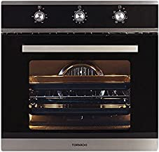 Tornado OV60EMFFS-1 Electric Stainless Steel Oven with Convection Fan and Grill - 64 L, Silver Black