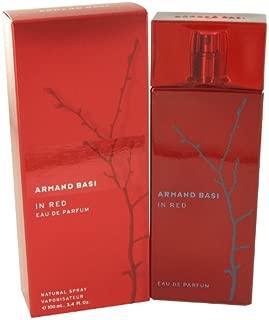 Armand Basi In Red 3.4 oz Eau De Parfum Spray- For Women