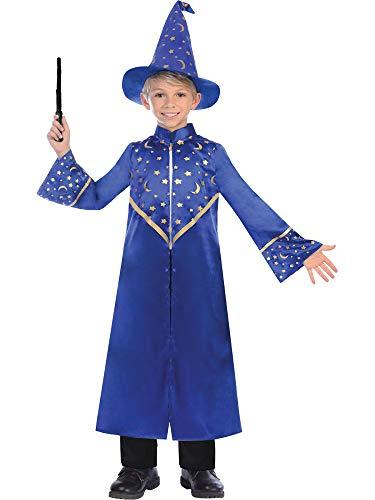 Disfraz de mago para niños (6-8 años)