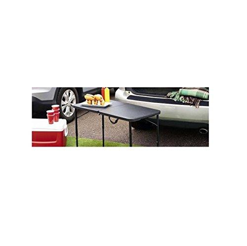 Mainstays 20' x 40' Fold-in-Half Table, Black