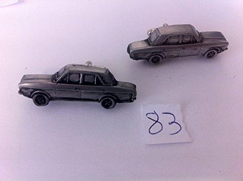 FORD CORTINA 1600E (MK2) 3D Boutons de manchette Boutons de manchette voiture classique effet étain ref83