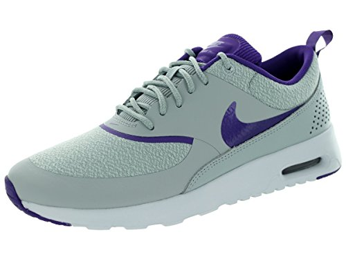 Nike Air Max Thea, Damen Low-Top Sneakers - Silber Flügel/Lila, 5 UK/38.5 EU/7.5 US