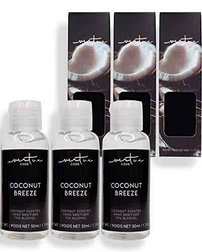 Hand Sanitizer Gel in Coconut Breeze by VIRTUE CODE 3...