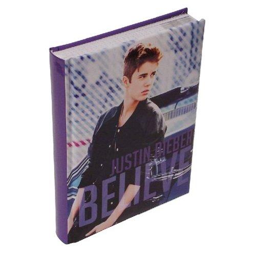 Justin Bieber Diario Pocket 12 mesi Blu Scuola