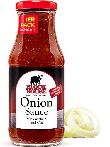 Block House Special Onion Sauce 240ml - in Restaurantqualität