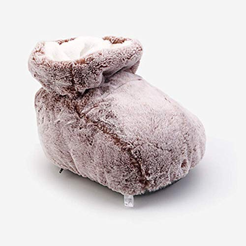 DHFUIH Cuscinetto riscaldante per Piedi, scaldapiedi riscaldato Telecomando Portatile a Design Separato con scaldapiedi a 3 Temperature