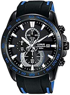 Lorus Casual Watch For Men - Round, Rubber, RM389DX9