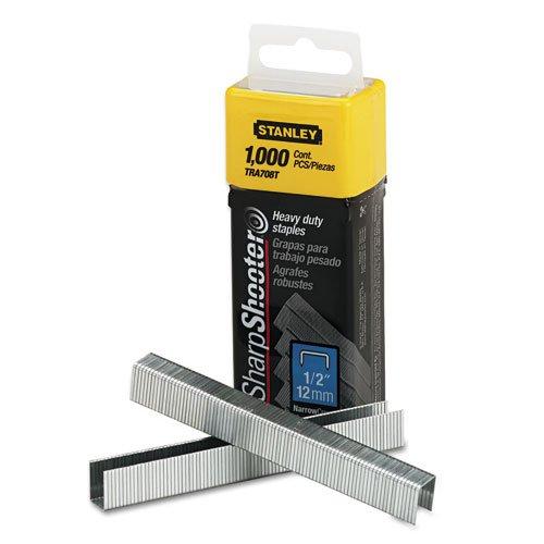 Sharpshooter grapadora grapas, 1/2'' Longitud de pierna, 1000/caja, se vende como 1000cada