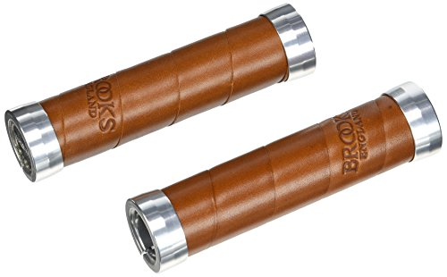 Brooks Lenkergriffe Slender 130 mm / 130 mm, Honig, Slender
