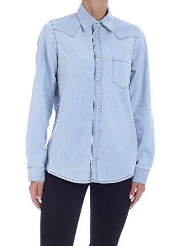 WOOLRICH Luxury Fashion Damen WWSI0050FRUT21043079 Hellblau Baumwolle Hemd | Frühling Sommer 20