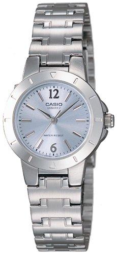 [カシオ] 腕時計 スタンダード LTP-1177A-2AJF シルバー