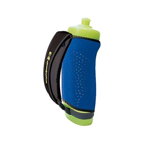 FuelBelt Helium Sprint Hand Held Runners Water Bottle Blue Sports Drinks Bottle