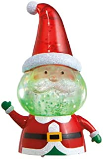 Midwest Giftware Christmas Santa Mini Shimmer Acrylic Lighted Figurine