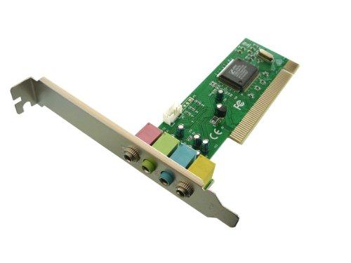 KALEA INFORMATIQUE CMI8738/PCI-SX - Scheda Audio per Porta PCI-, 4 canali