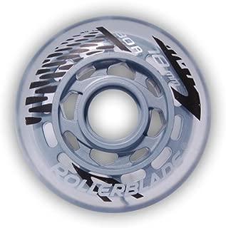 Rollerblade 78mm 80A Inline Skate Wheels - 8 Pack 2014