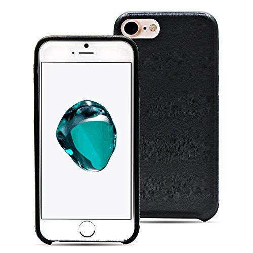 Manna Rückcover für Apple iPhone 7 Hülle (4,7 Zoll)   Schutzhülle Lederhülle Abdeckung Tasche Handyhülle   Hülle aus Echtleder Astana