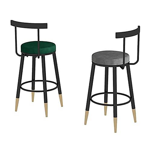 CCTC 30-Zoll-Balken-Side-Stuhl mit Rücken für Innen-Außenbistro-Küchen-Pub-Bauernhaus, Bar-Stühle, Barhocker-Set von 2 Thekenhocker Industrielle Metallstühle Patio Tolix-Style Barhocker