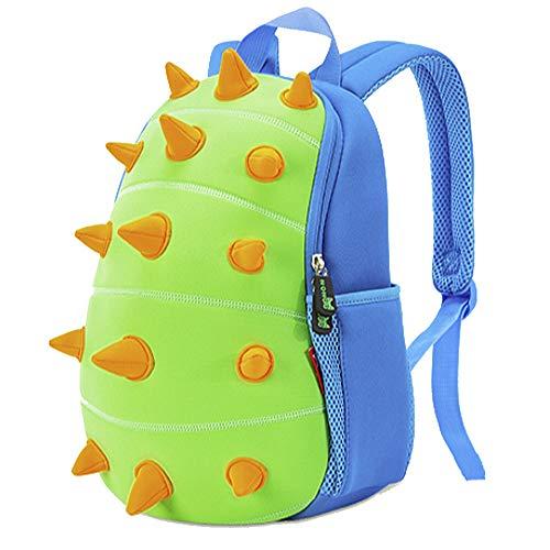 OFUN Toddler Dinosaur Backpack, 13'' Dinosaur Toys Bag & Cute Cartoon Schoolbag Waterproof, Preschool Backpack Book Bag for Boys Girls