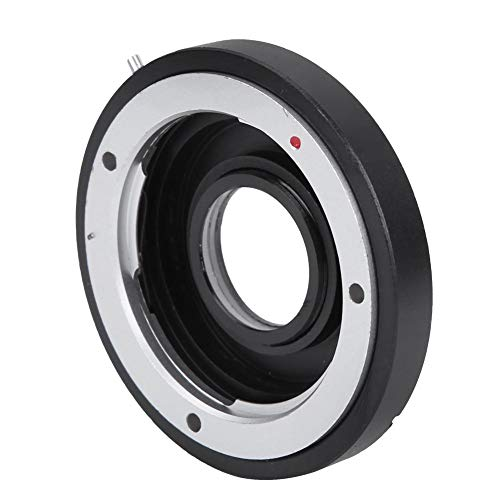 Bewinner Ring Converter for Camera,MD-EOS Mount Lens Adapter Ring Close-up for Minolta MD MC to for Canon EF Mount Cameras,Made of Quality Metal,High Strength and Non-Deformation