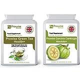 Tè verde + Garcinia Cambogia 500mg 60 capsule Dimagrimento dimagrante - Aiuta a perdere grasso per uomo e donna - Raggiungi obiettivi di perdita di peso Pillole dimagranti con bruciatore di grassi