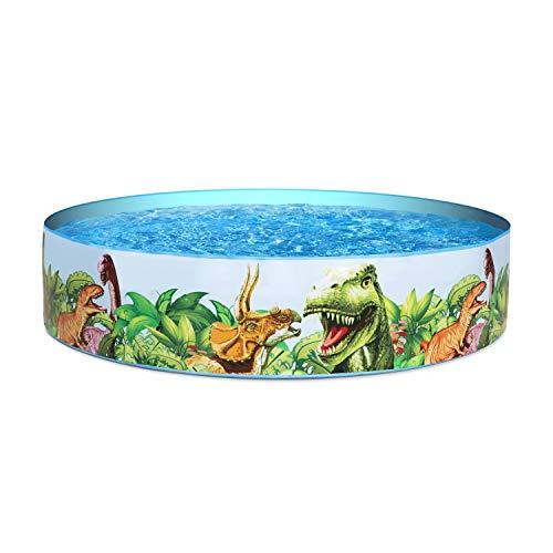 Bestway BW55022-20 Dinosaurous Fill 'N Fun Kiddie Paddling Pool, 1.83 m x 38 cm