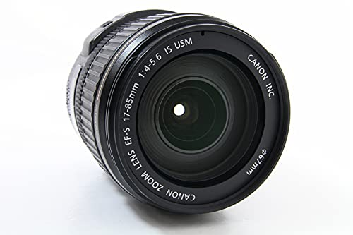 Canon EF-S 17-85mm f/4-5.6 IS USM - Objetivo (17/12, 0,35 m, 27-136 mm, 7,85 cm, 9,5 cm, 475 g)