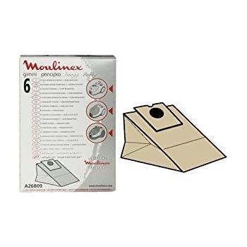 MOULINEX-Bolsa para aspiradora MOULINEX: Amazon.es: Hogar
