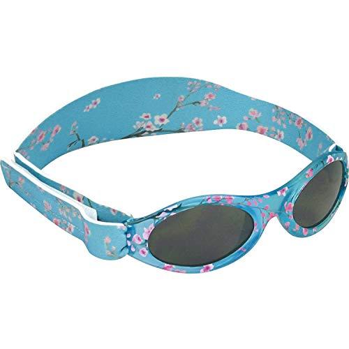 Original Dooky Baby Banz Blue Star Baby Sonnenbrille für Mädchen und Jungen, 0 - 2 Jahre, UV-A & UV-B Schutz, bruchsicheres Glas mit Neoprenband, blau