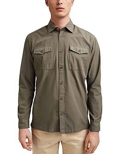 ESPRIT #ReimagineNaturalLifestyle: Hemd aus Baumwolle